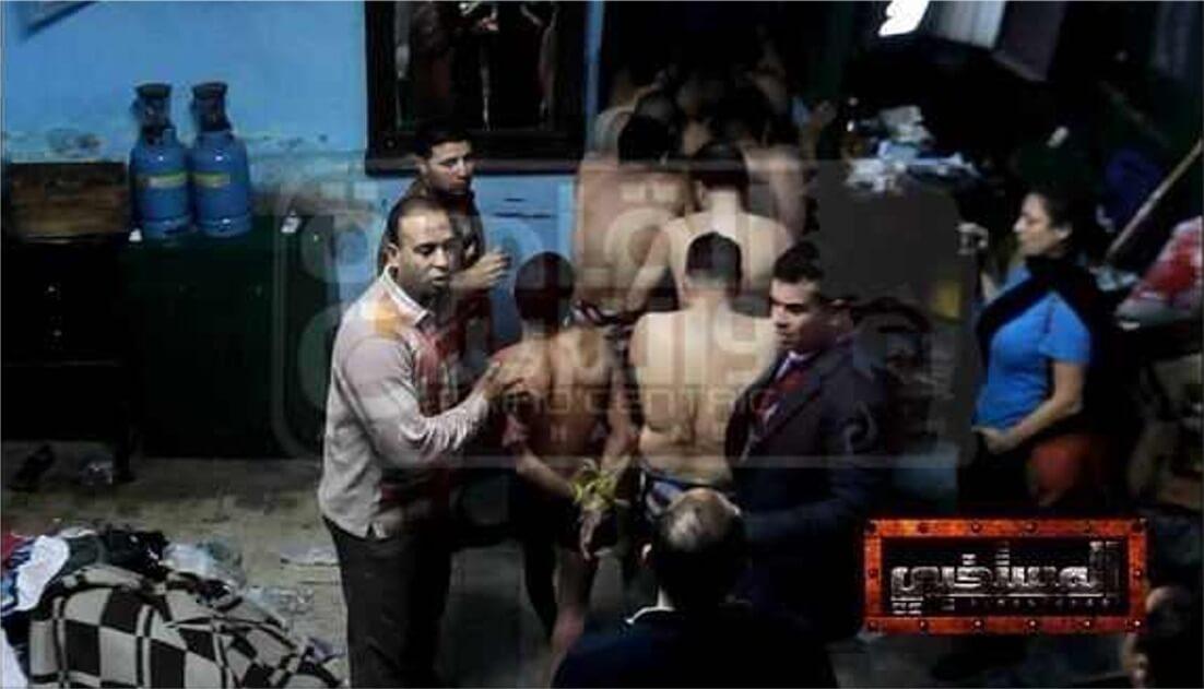 מעצר מול מצלמות הטלויזיה