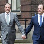 גברים בכל רחבי הולנד מחזיקים ידיים לאות סולידריות עם זוג שהותקף באכזריות
