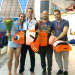 19 מדליות לקבוצת השחייה של מועדון ספורט גאה תא באליפות ישראל בשחייה