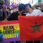 צעד במצעד הגאווה עם דגל מרוקו וקיבל איומים על חייו