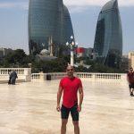 ממגדלי הלהבה ועד הלהבה בגריינדר - ביקור גאה בבאקו בירת אזרבייג'אן
