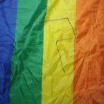 המקרים שמאחורי המספרים - צלב קרס צוייר על דגל גאווה בביס במרכז הארץ