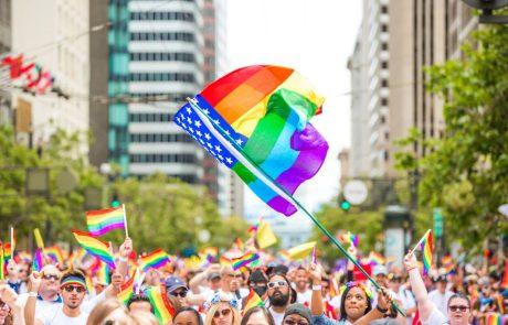 קליפורניה הגדירה בחוק את חודש יוני כחודש הגאווה