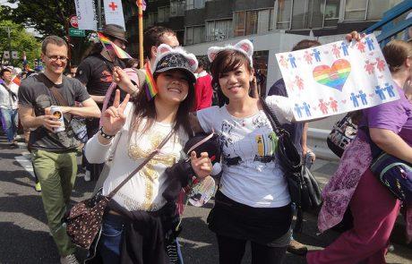גל נישואים גאים ביפן בניגוד לחוקת המדינה