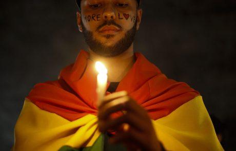 צעיר הומו נשרף למוות בברזיל