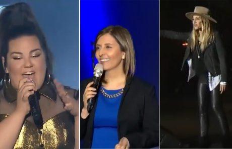 """מנטע ברזילאי ועד גילה גמליאל – הרגעים הגדולים של מופע האירוויזיון בת""""א"""