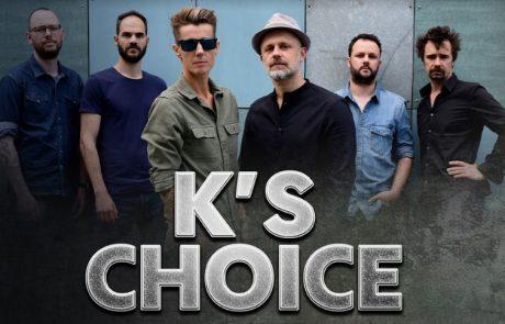 להקת K's Choice חוזרת לישראל ואורחי הכבוד הם – אתם.ן