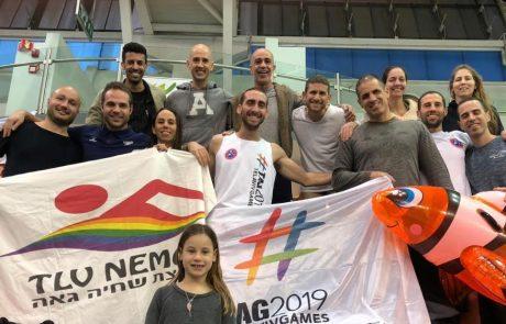 27 מדליות לקבוצת השחייה הגאה באליפות ישראל למאסטרס